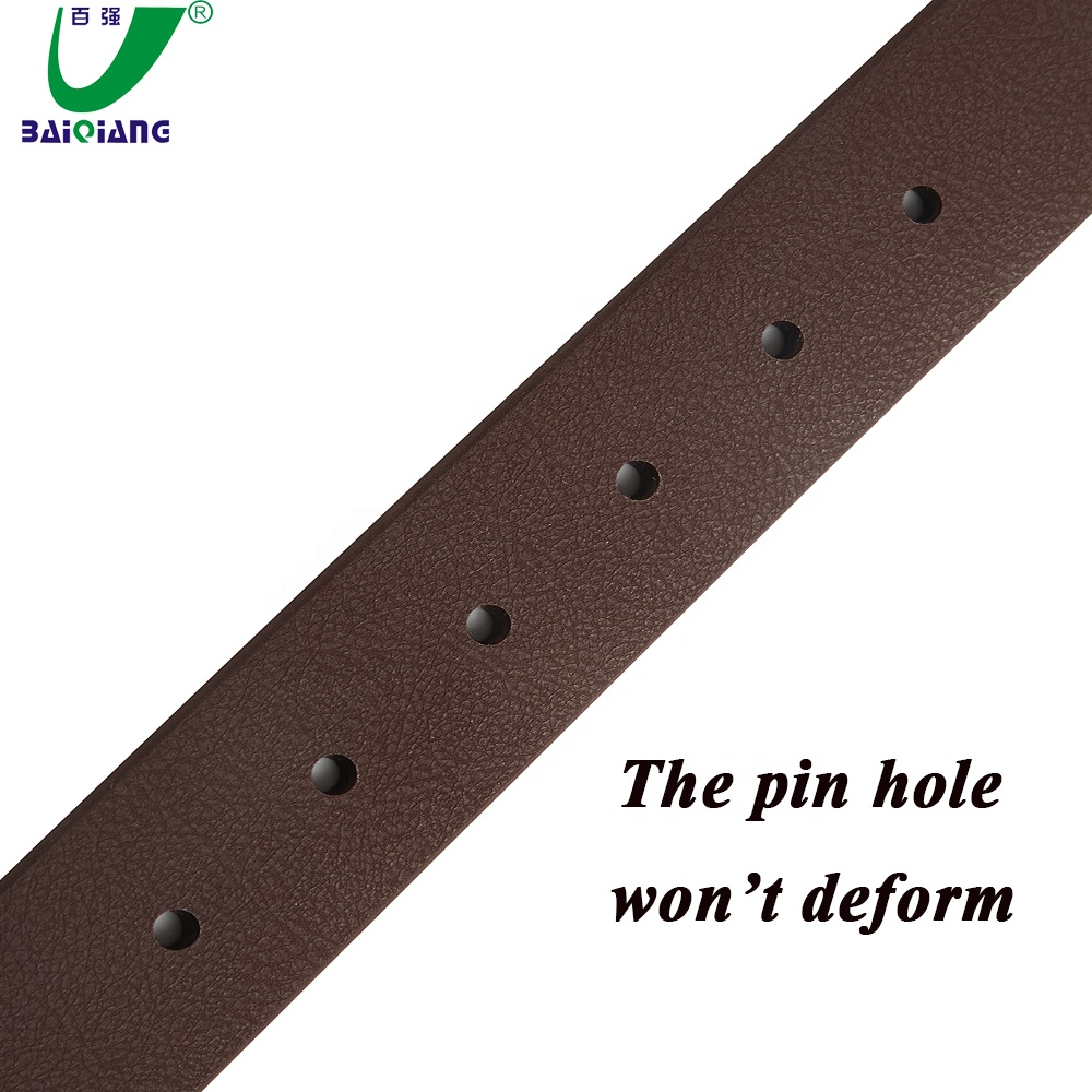 Synthetic Artificial Vegan Leather Belt for Boys